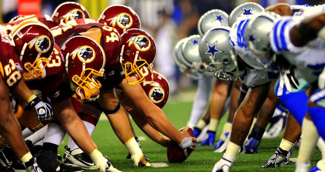 Redskins Cowboys Football